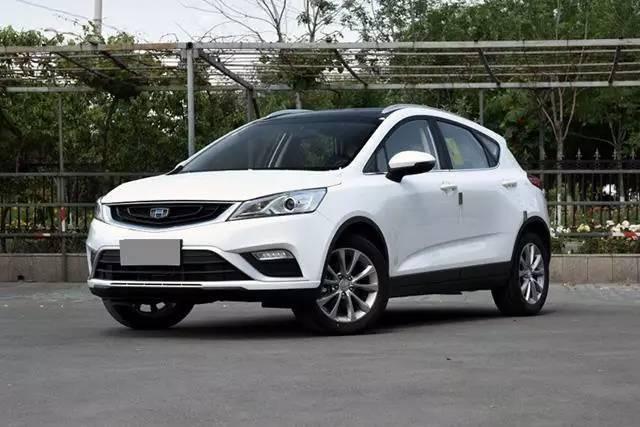 10万以内国产SUV 外型与内饰让你倍有面!