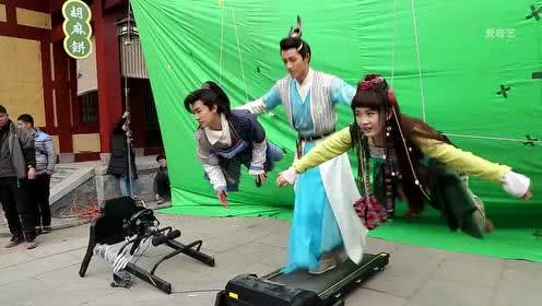 《钟馗捉妖记》李子峰臂力惊人 特效竟是跑步机