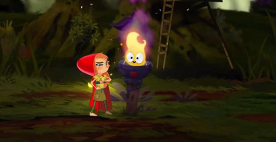 穿过危险的森林 《红色故事—小红帽》现已上架