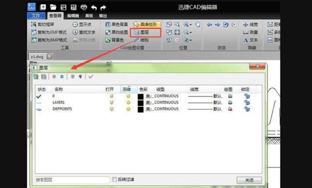 CAD删除图层解决分隔带无法中央开口cad图片