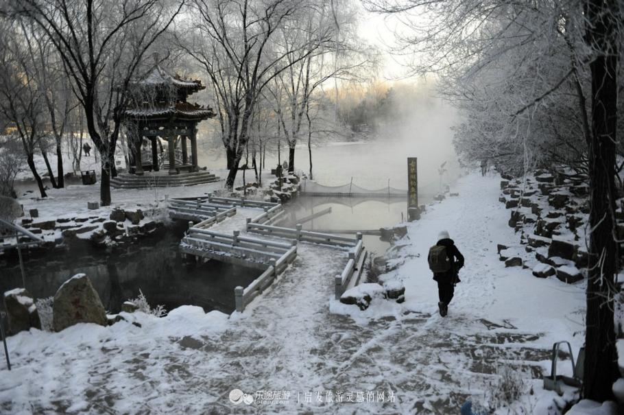 遇见本溪水洞,那一眼 惊艳的冬天!