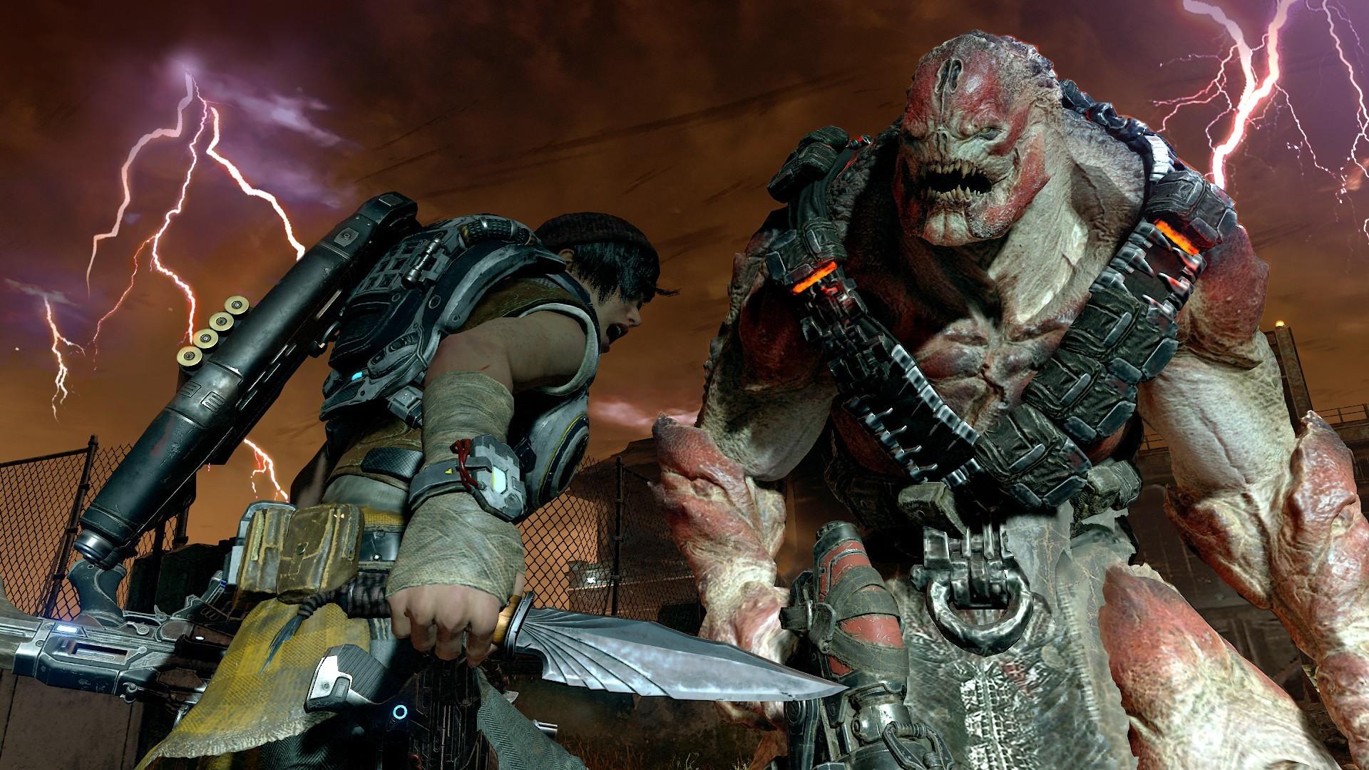 《战争机器4》预购送全系列