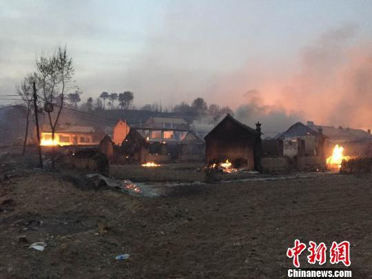 【转】北京时间      河北承德县发生森林大火 目前山火仍未扑灭 - 妙康居士 - 妙康居士~晴樵雪读的博客
