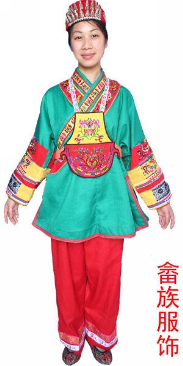 客家人的服饰与唐宋时期中原人民的服饰