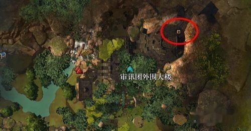 激战2度量领域审讯团外围大楼探索点位置