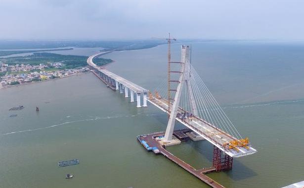 海南铺前大桥主桥有望10月合龙 铺前到海口仅20分钟