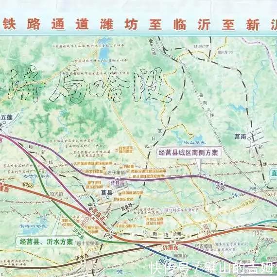 莒县各个乡镇地图