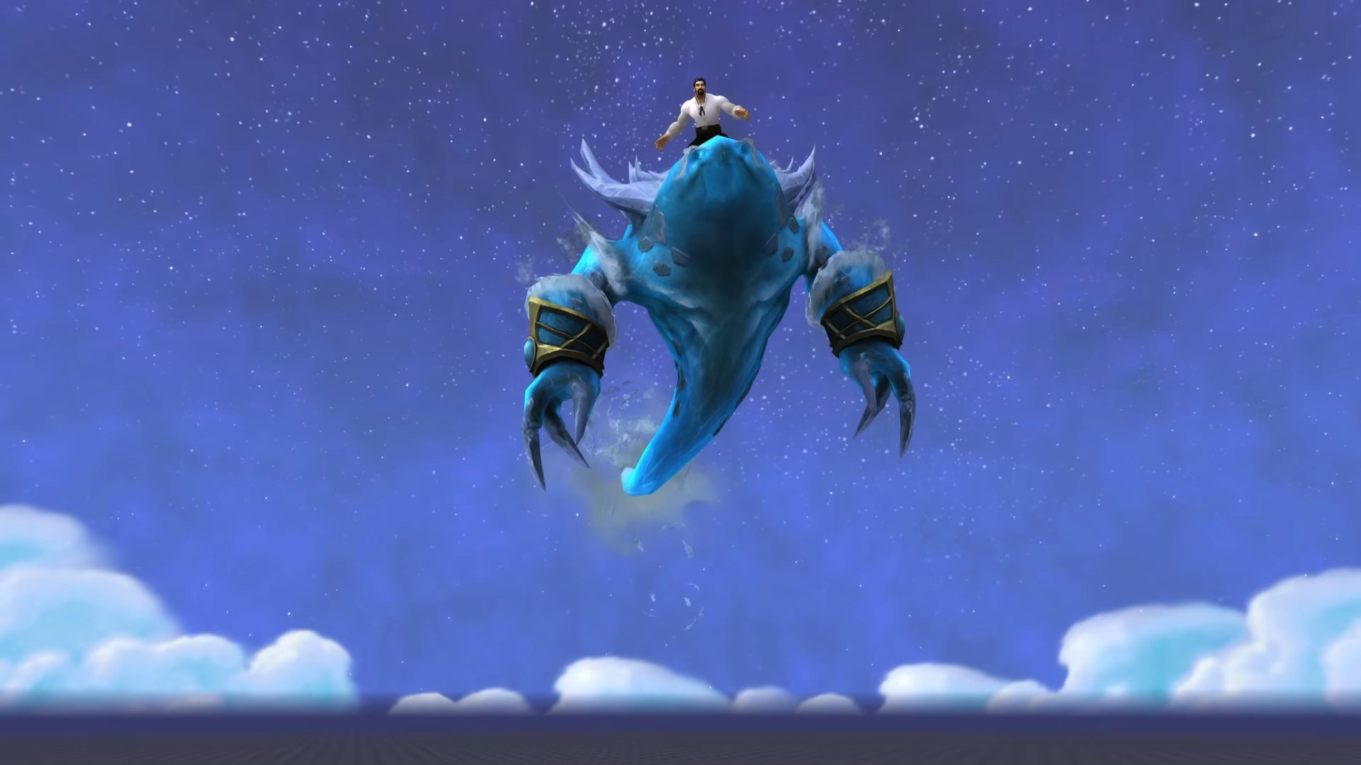 《魔兽世界》8.1吉安娜进本 掉落水元素坐骑
