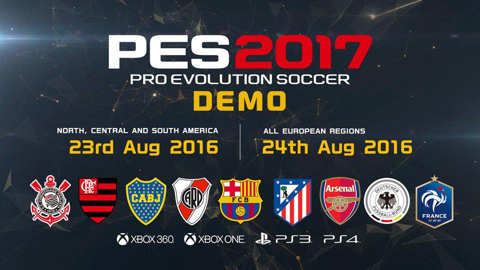 实况足球2017试玩版8月开放