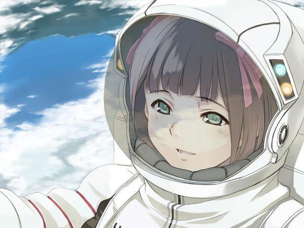 航天员的动漫人物图片