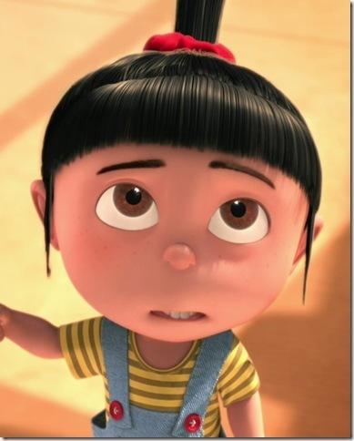 请问这个卡通小女孩叫什么名字?