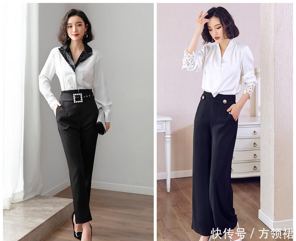 白衬衫的3种搭配,今夏超级流行,通勤约会都可以很美!
