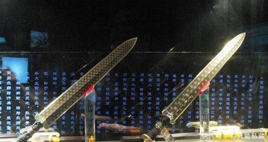 世界上最古老的5把诡异刀剑,一把来自天外,2把来自中国