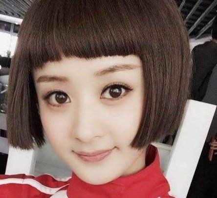 圆脸女生适合什么类型的短发?选对发型秒变赵