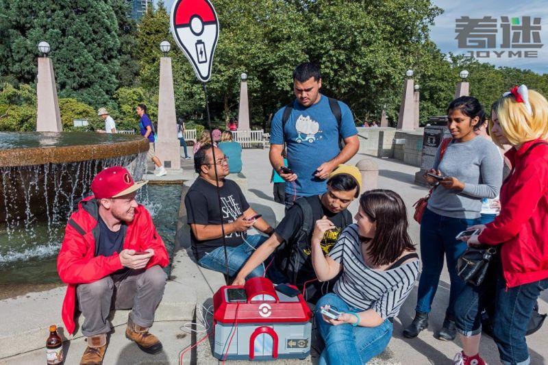 手工大神打造《Pokemon Go》实体充电站