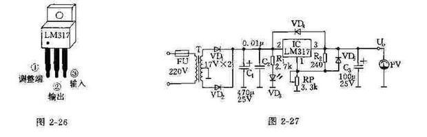 7v一下,可以用lm317三端稳压集成块,调整电压到2.