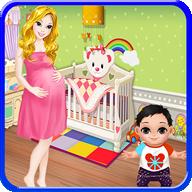 新生婴儿 - 妈妈游戏