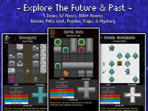 复古冒险《命运的冒险:探索未来》