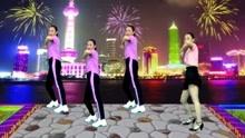 网红广场舞《姑娘我爱上你》青春32步 太好看了