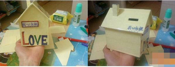 如何diy儿童手工制作小房子方法图解
