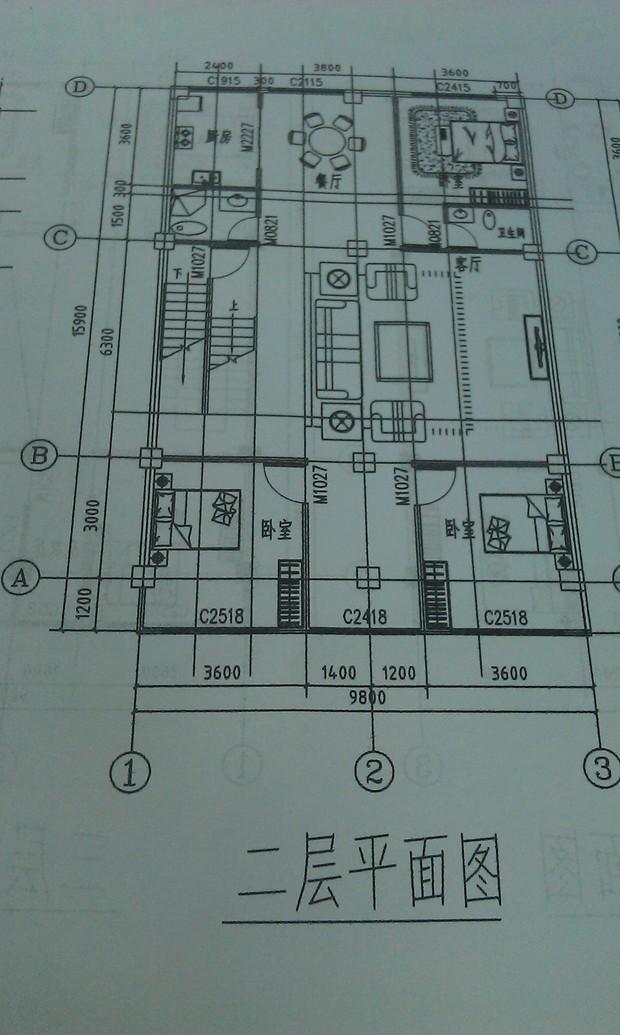 农村复式楼房屋设计图展示图片