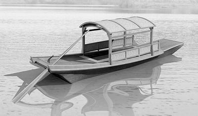 古代船橹图片