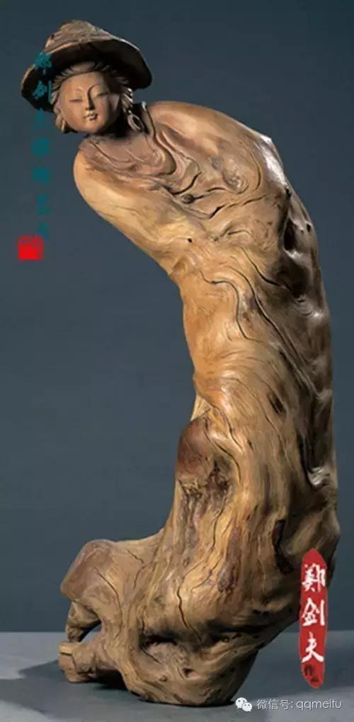 中国根艺大师 -- 郑剑夫 灵魂根雕作品欣赏