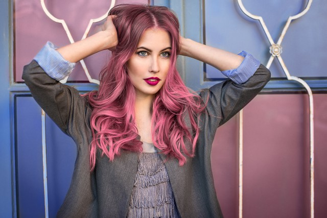 【图】圆脸女生齐耳颜色图解具有短发功的2016瘦脸短发挑染图片