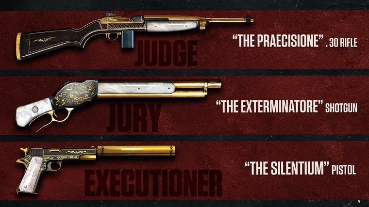 《四海兄弟3》武器包宣传图