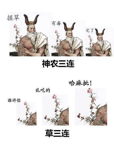 扁鹊华佗曹操三连表情包...