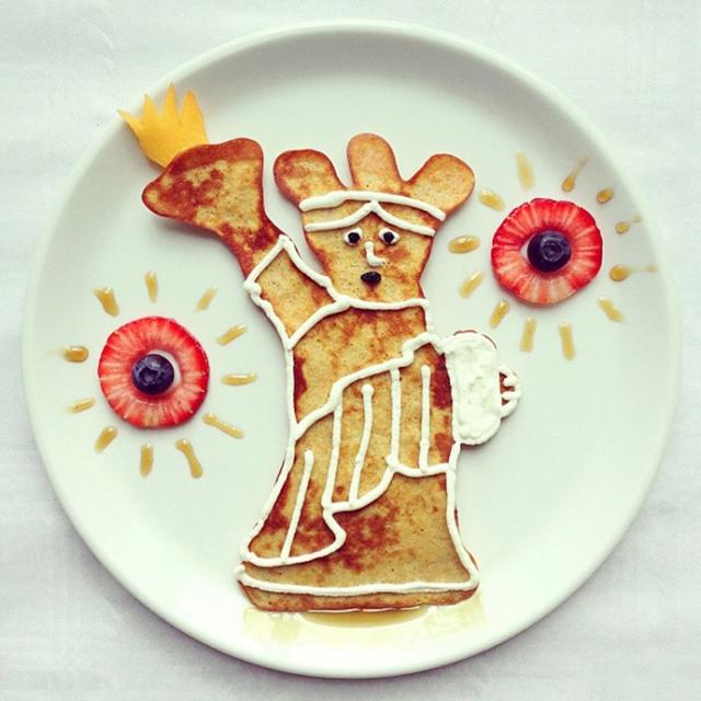 [转载]盘子上的艺术美食,一位妈妈的创意早餐摆盘,走红网络! - 烟圈 - 烟圈的博客