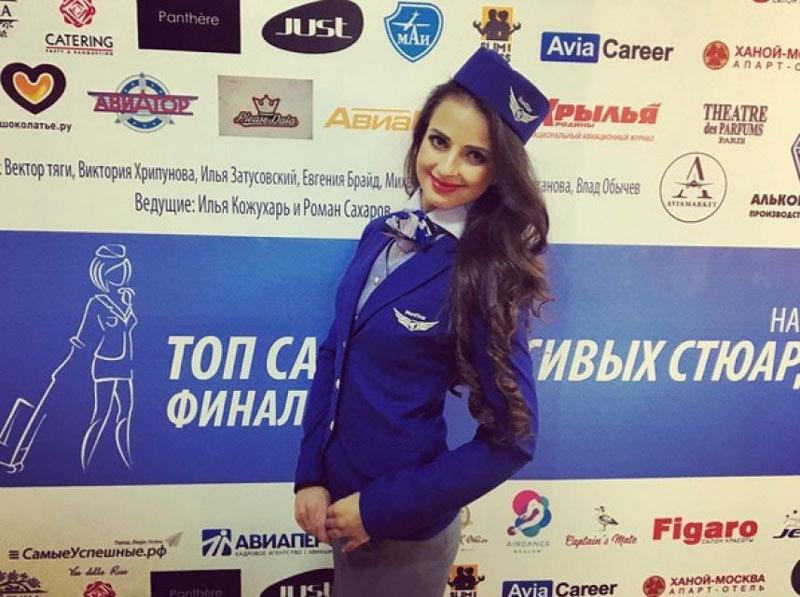 俄罗斯选出最美空姐 26岁西伯利亚姑娘夺冠