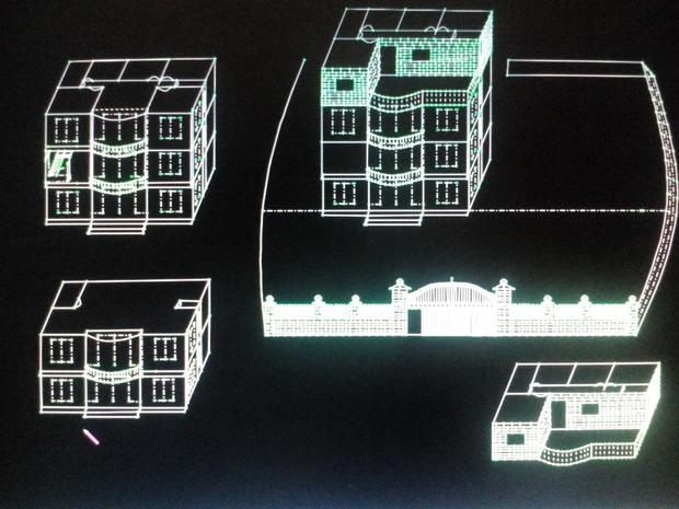 含楼梯框架结构共三层半,不算地皮费,不装修,全抬空,(三间房)要多少钱