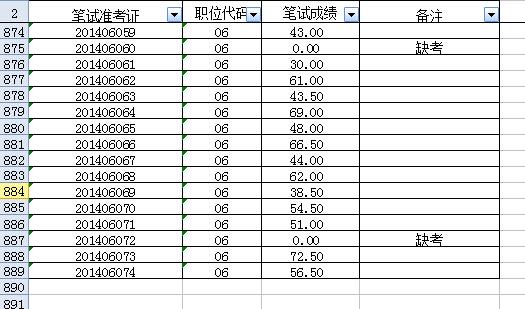 如何查看excel表格中的所有数据(有下拉菜单的)?求解