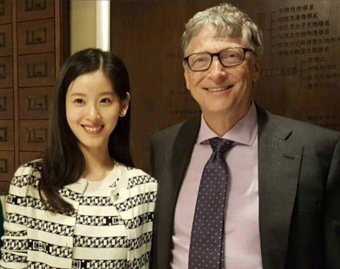 厉害了刘太!章泽天与比尔盖茨吃饭全程飙英语