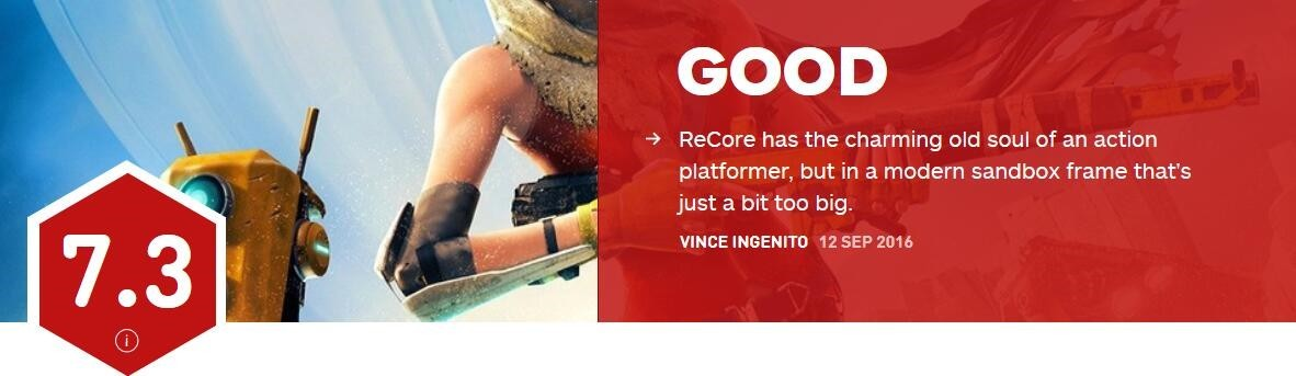 《核心重铸》IGN评分7.3