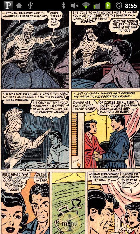web of mystery comic book #1 1.