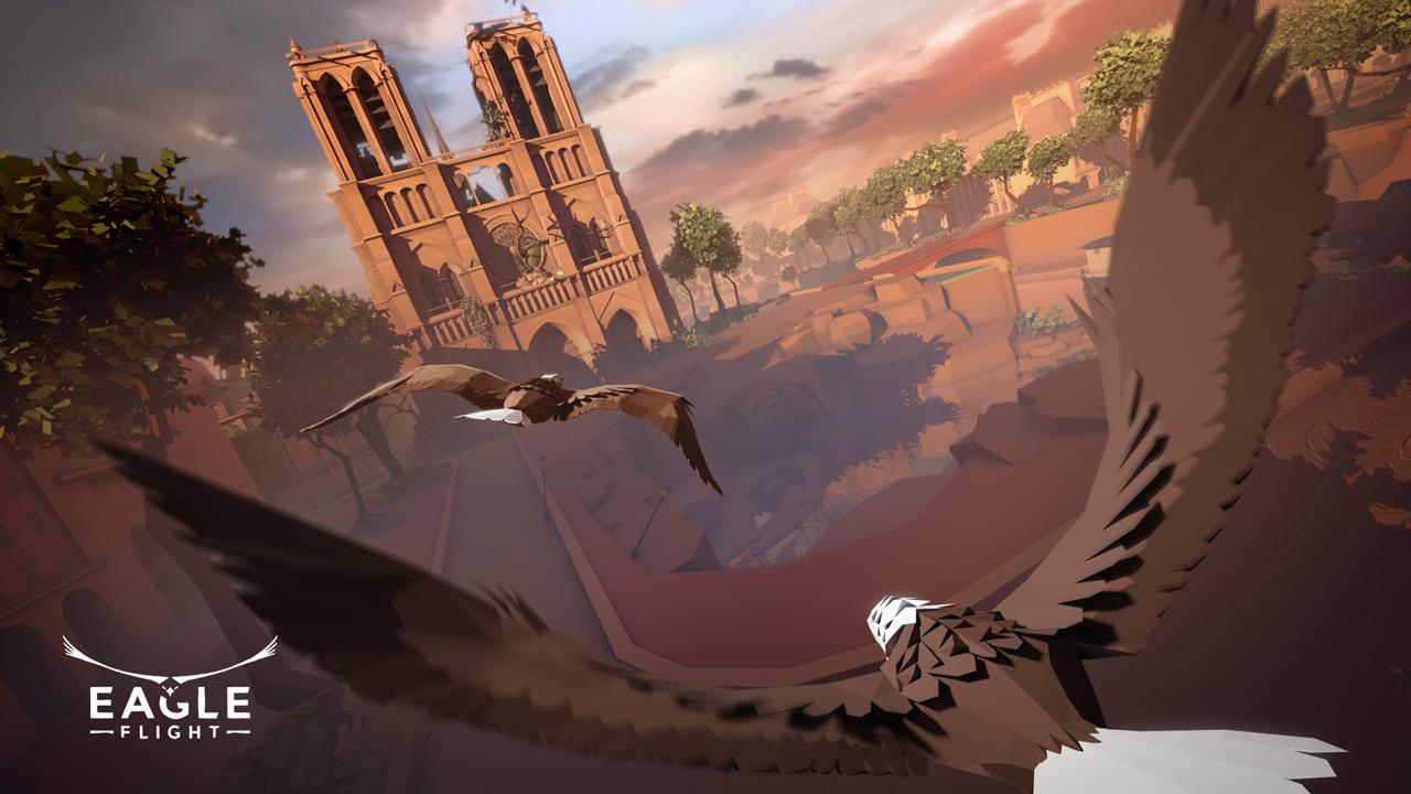 育碧VR游戏《鹰飞》公布游戏截图