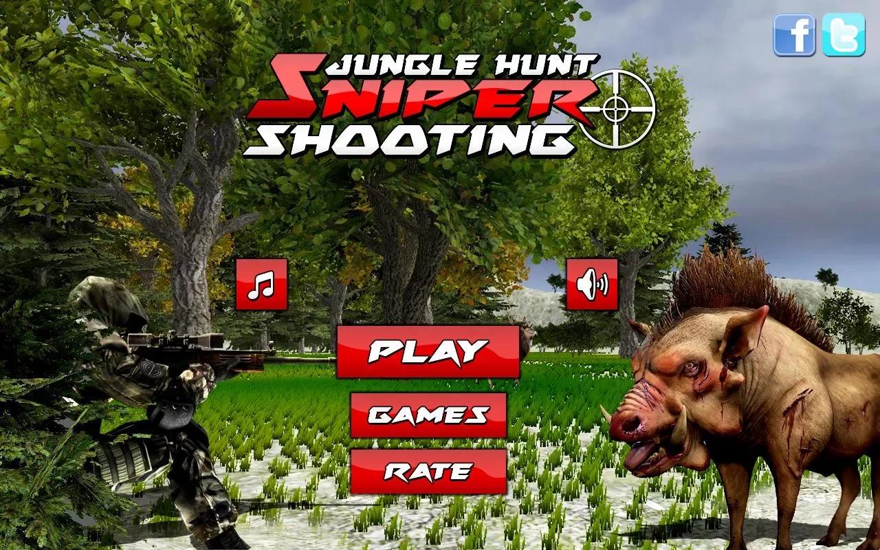 有数以百计的狩猎游戏中的动物攻击你