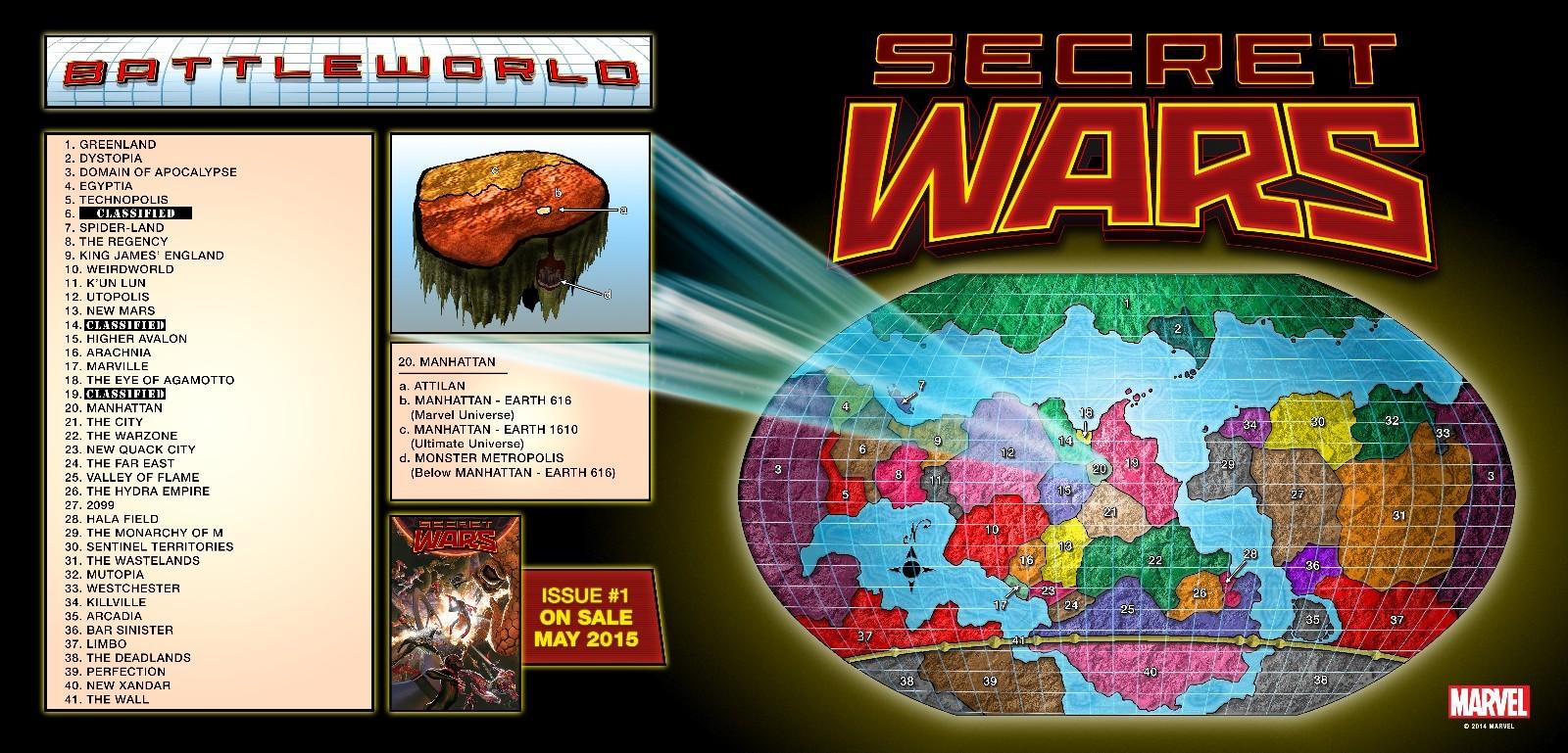 秘密战争2015地图
