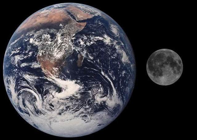 在太阳系这个大家庭里,地球的个头实在算不上大,跟那些巨无霸相比,实图片