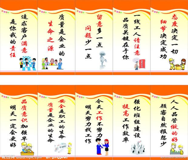 饭堂/食堂宣传标语(t类):12张/套材质:kt板冷裱框&