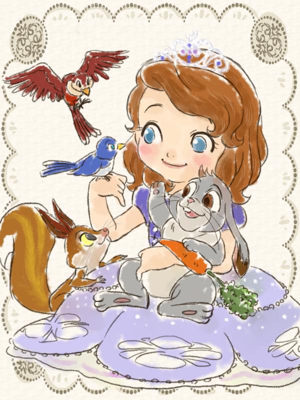 《小公主苏菲亚》国语动画图