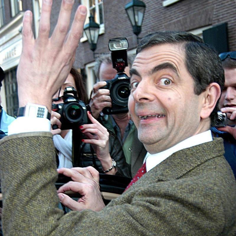 憨豆先生-英国1990年首播电视喜剧图片