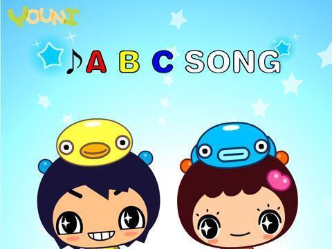 abc英文字母歌图片