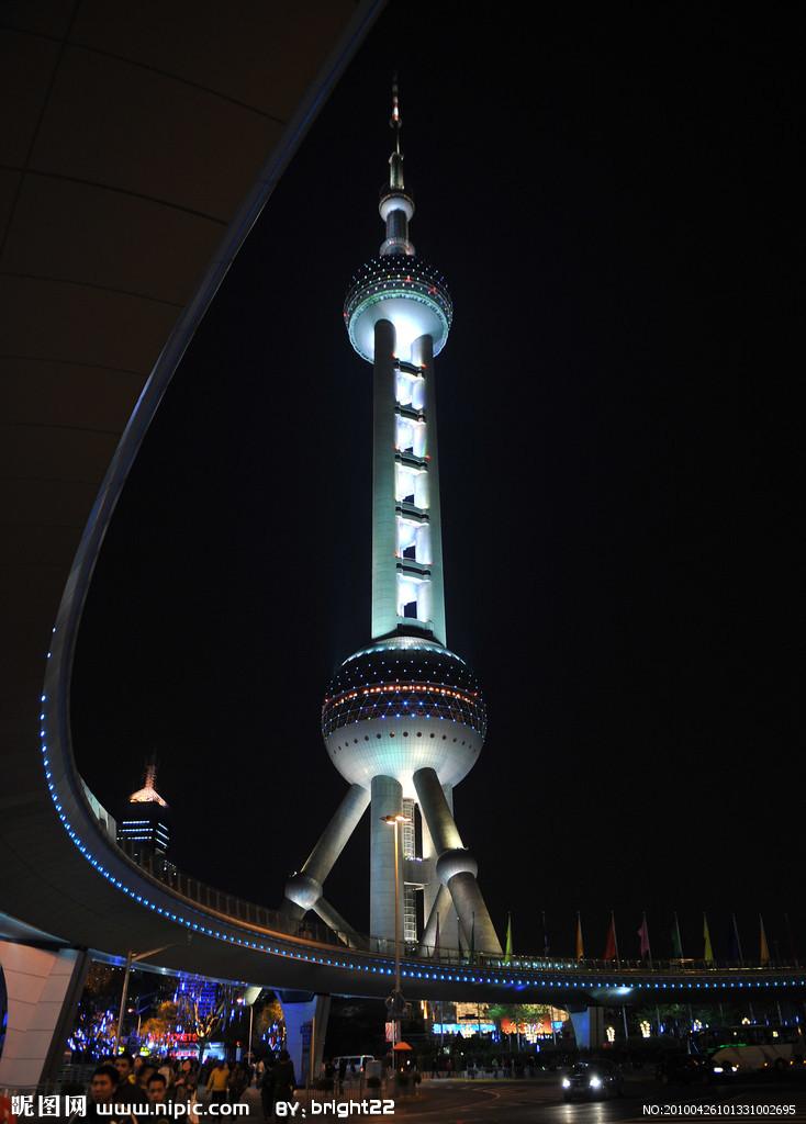 东方明珠广播电视塔(orientalpearltvtower)