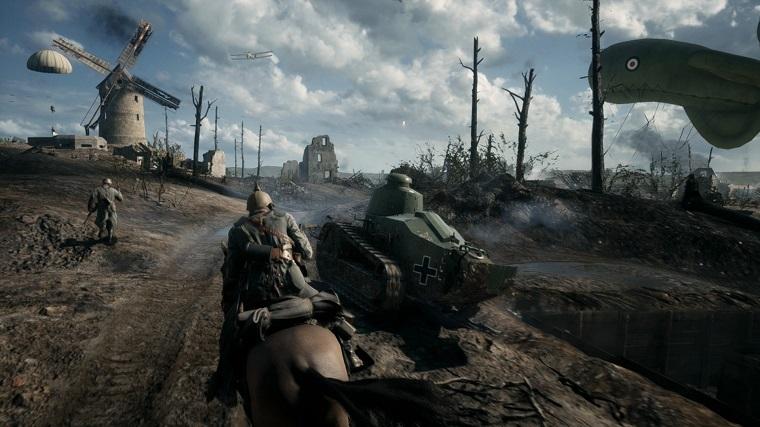 EA的《战地1》