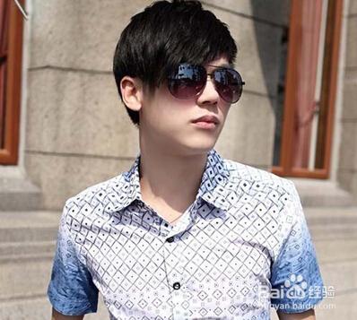 头大脸大的最好适合发型男生有图连接_3齐刘海谢谢图片