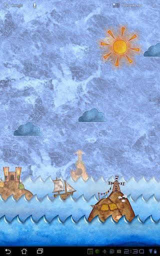 这是一款绘画风格的动态壁纸,带给你一个可爱的主屏