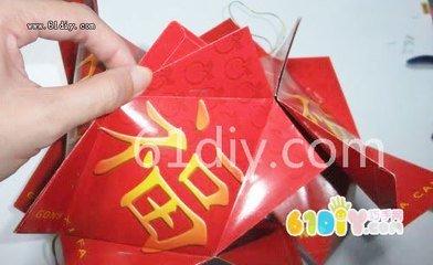 手工红包灯笼制作方法